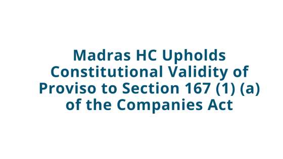 Section 167 (1) (a) of the Companies Act