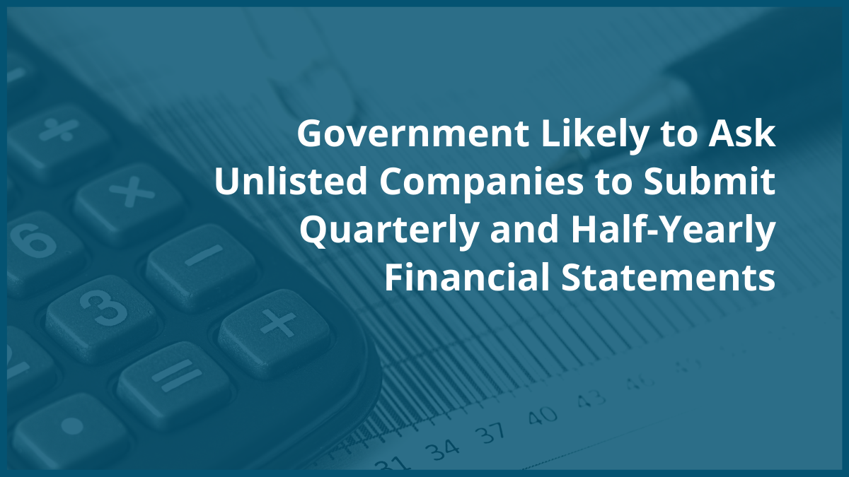 Unlisted Companies Financial Statements