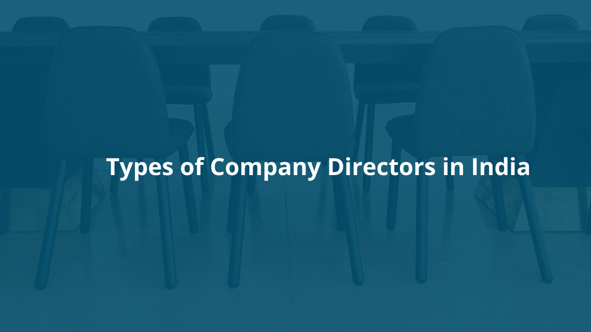 types of company directors