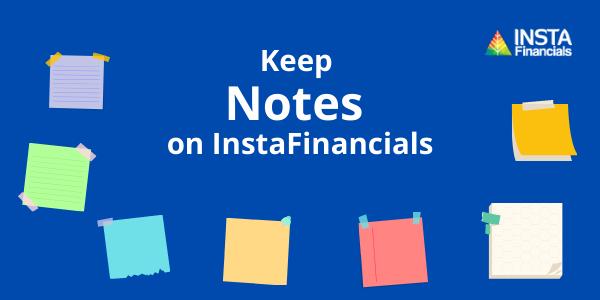 Notes on InstaFinancials